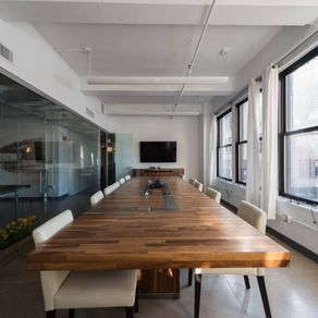 Hand Crafted Oakland Modern Conference Table By 90 Degree Office