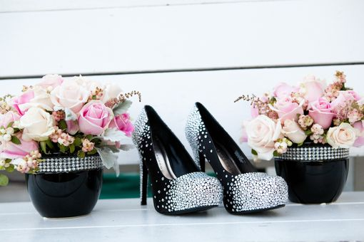 Custom Made Starry Night Out Custom Swarovski Crystal Pumps