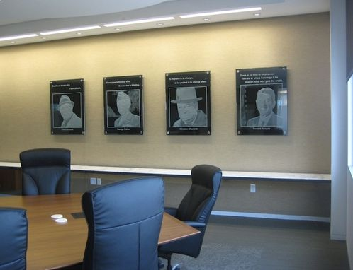 Custom Made Hero Wall, Conference Room