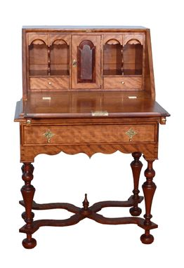 Custom Made William And Mary Desk