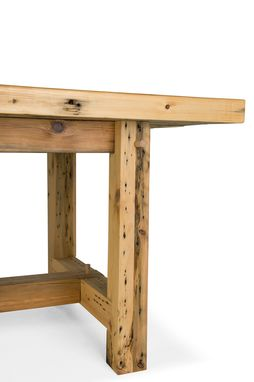 Custom Made Seville Reclaimed Trestle Table
