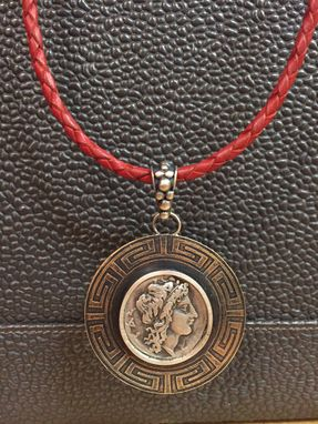 Custom Made Greek Inspired Ancient Coin Pendants