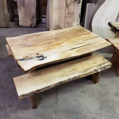 Custom Made Tiny Toddler Live Edge Table