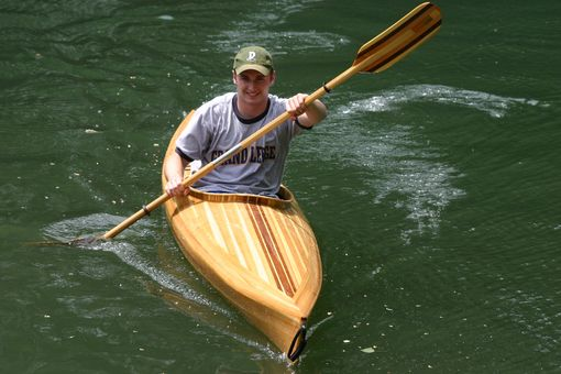 Custom Made The Looking Glass Cedar Strip Kayak