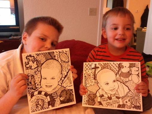 Custom Made Personalized Child's Portrait