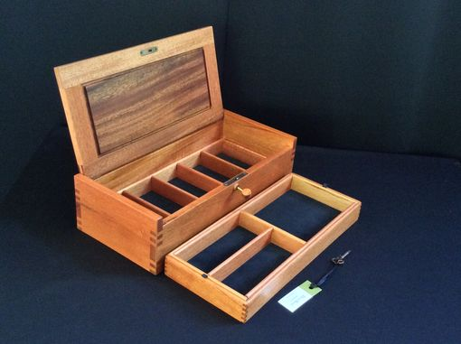 Custom Made Small Wood Jewelry Box