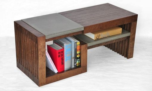 Custom Made Vertical Grain Coffee Table