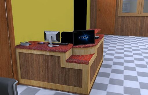 Custom Made Reception Desk Concept