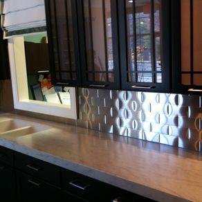 Kitchen Backsplash Centerpiece custom backsplashes | custommade