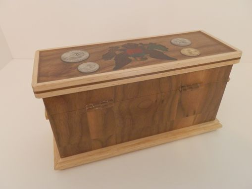 Custom Made Custom Wooden Hinged Boxes For The Home