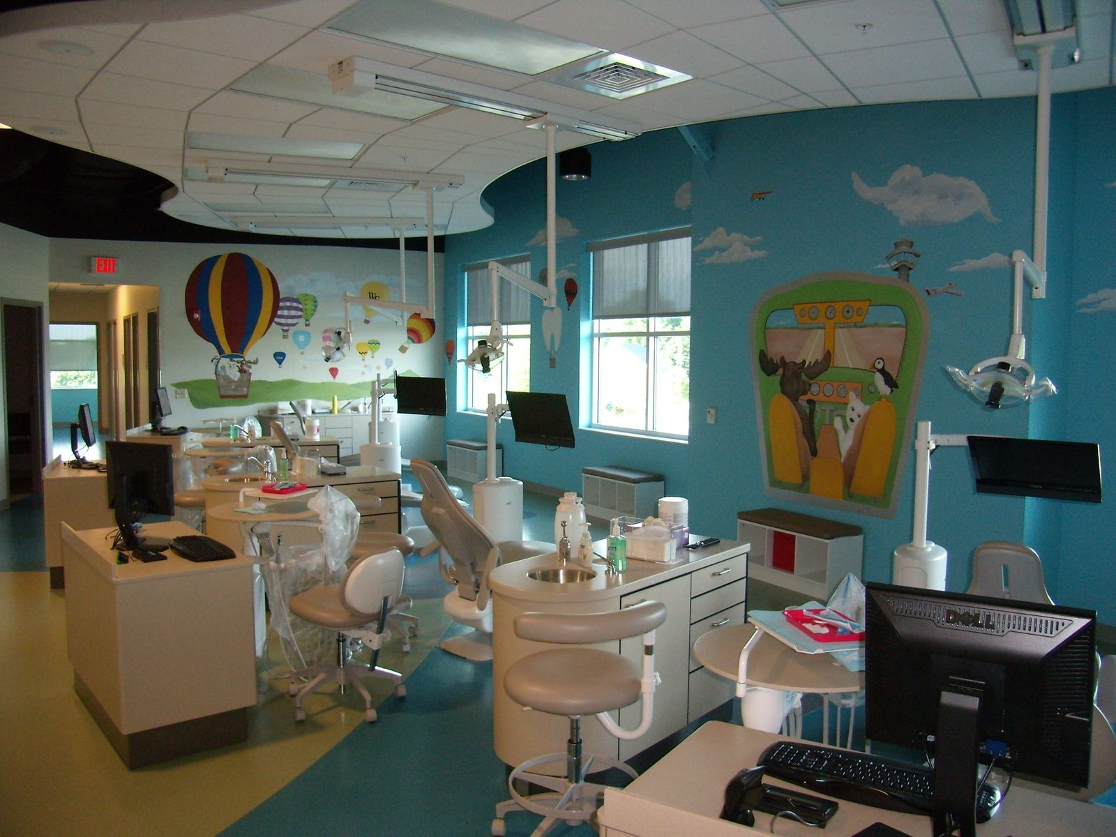 Hand Made Pediatric Dental Office by Ckpaints | CustomMade.com