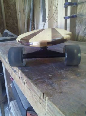 Custom Made My 1st Longboard Skateboard