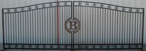 Custom Made Double Star Style Gates