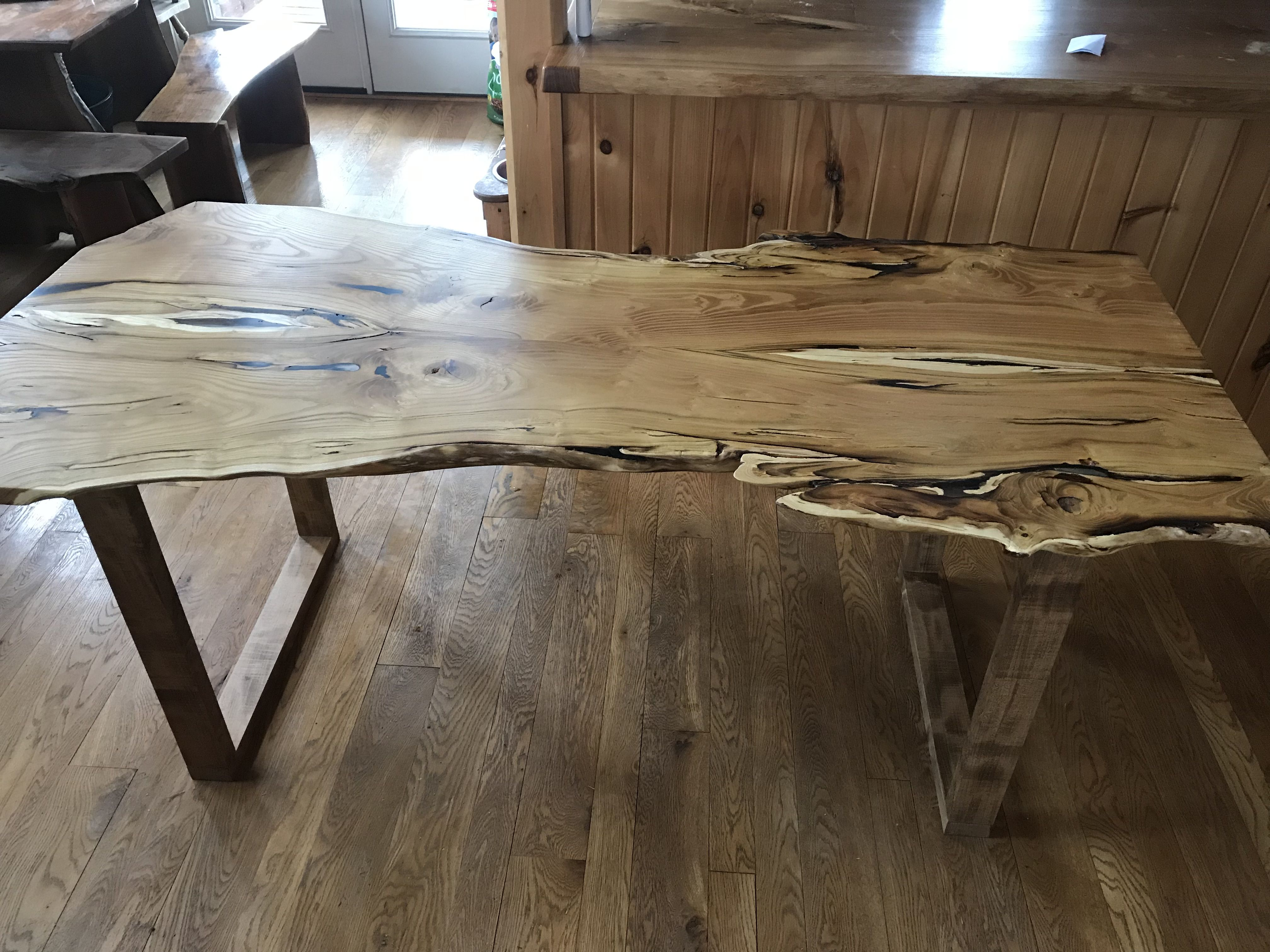 Buy A Custom Live Edge Black Locust Table Made To Order