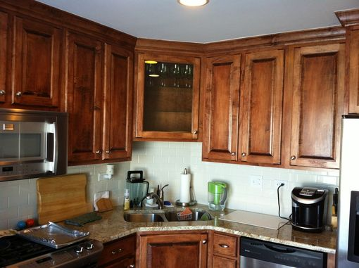Custom Made Custom Maple Kitchen Cabinets