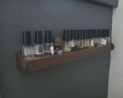 Custom Made Essential Oil Display - Storage Rack