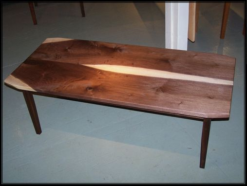 Custom Made Black Walnut Coffee Table