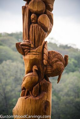 Custom Made Custom Wildlife Carving