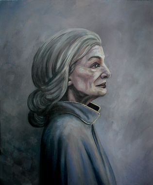 Custom Made Anya (Gracious Bringer Of Goodness, Mother)-Acrylic On Canvas Board Portrait, Framed