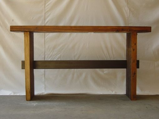 Custom Made Rustic Console Table