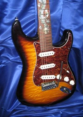 Custom Made Legend Dragon Strat