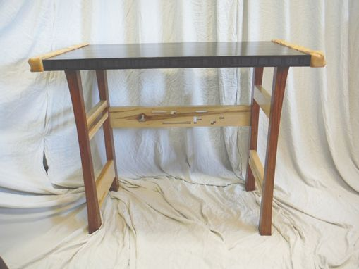 Custom Made Chocolate Bamboo Desk