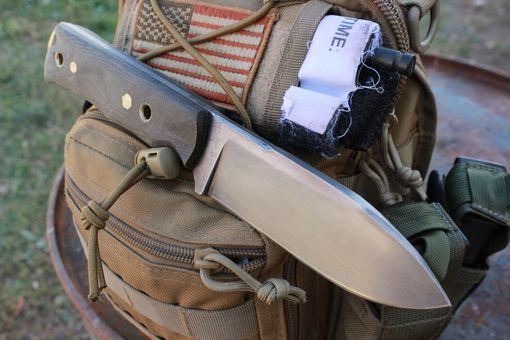 Custom Made Tactical Survival Mission Knife