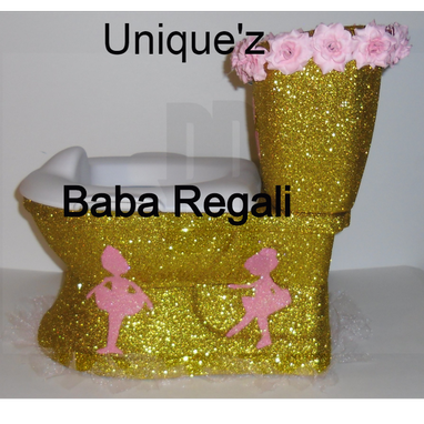 Custom Made Ballerina My Size Potty Chair (3d Ballerina Potty Chair)