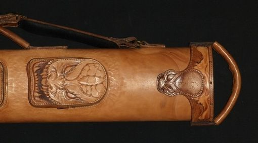Custom Made Monsterleather Poolstick Case