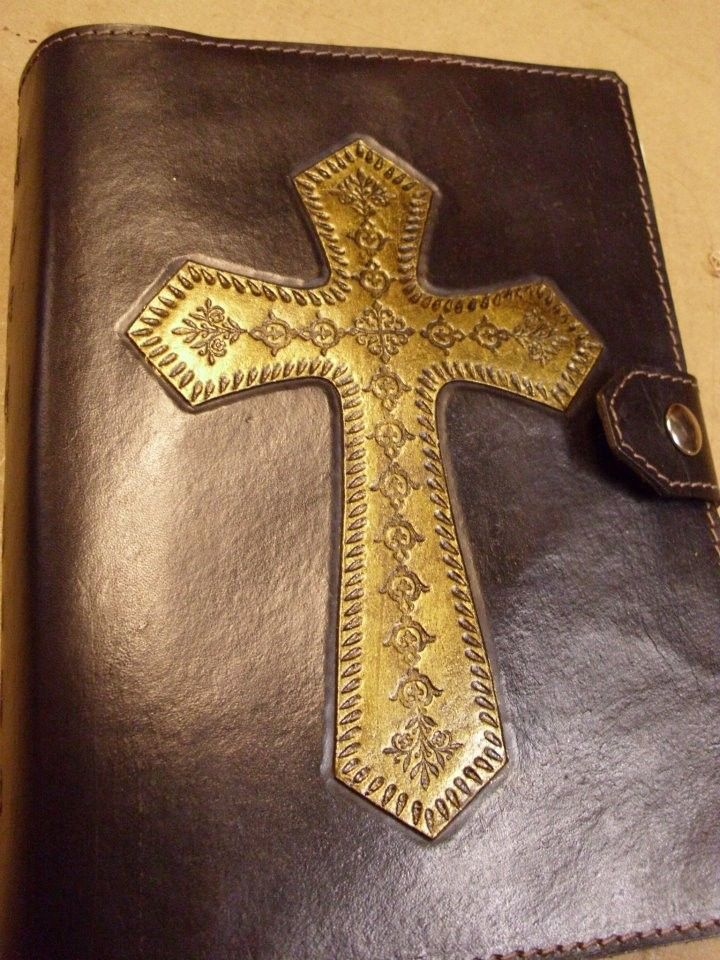 Hand Made Bible Cover By Alamo Custom Leather Custommade Com