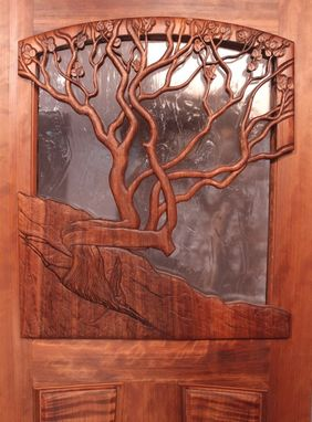 Custom Made Manzanita Door