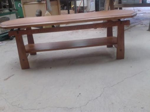 Custom Made Reclaimed Solid Wood Coffee Table