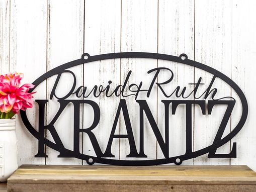 Custom Made Custom Family Name Sign | Custom Name Sign | Personalized Sign | Wedding Gift