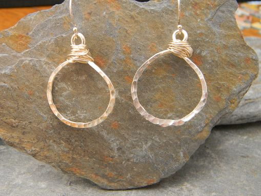 Custom Made Fine Silver Earrings