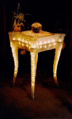 Custom Made Illuminated Table