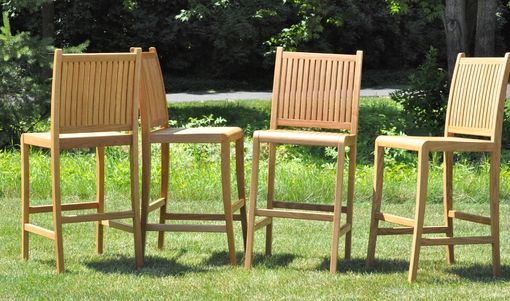 Custom Made White Oak Patio Furniture