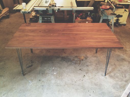 Custom Made Hairpin Style Dining Table