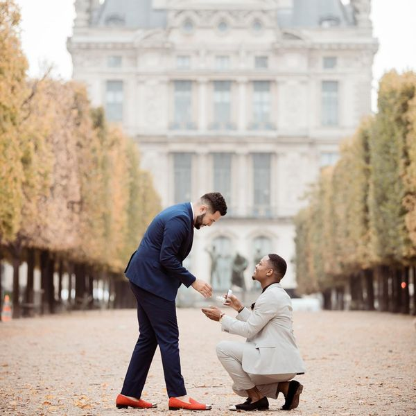 """""""Many people search far and wide for rings like mine and I am greatly appreciative of the fact that I didn't have to look far. Finding you guys online and being able to manage everything else leading up to the proposal because I knew CustomMade would not disappoint was nothing short of amazing."""" - Donovan & Alex"""