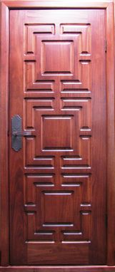Custom Made Custom Mahogany Doors