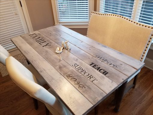 Custom Made Breakfast Table