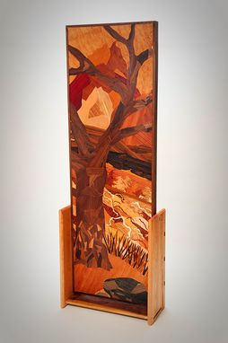 Custom Made Marquetry Room Divider