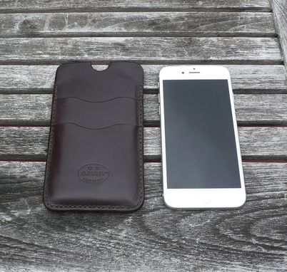 Custom Made Garny - №24 - Iphone 6 Leather Case - Dark Brown