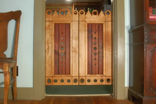 Custom Made Reclaimed Wood Doors