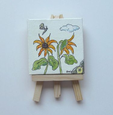 "Custom Made Commission Your Own Gift Painting 4"" X 4"""