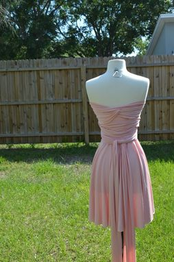 Custom Made Long Mini Convertibe Dress With Tube Top