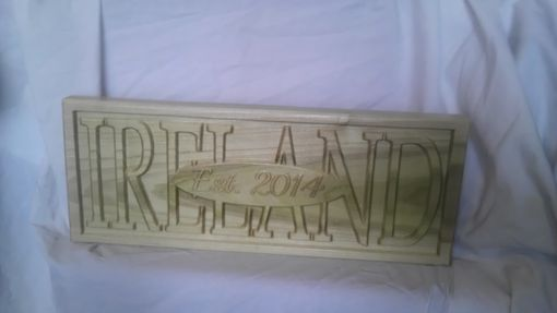 Custom Made Family Sign