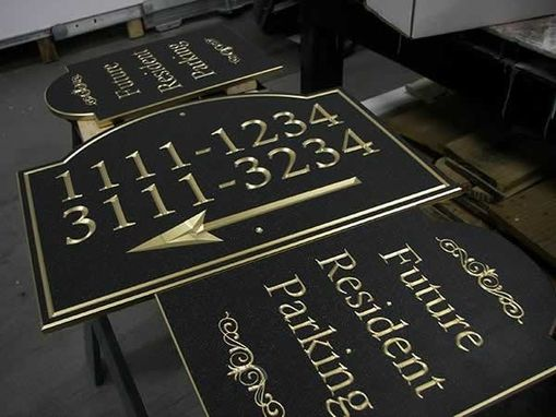 Custom Made Custom Sign With Dimensional Lettering