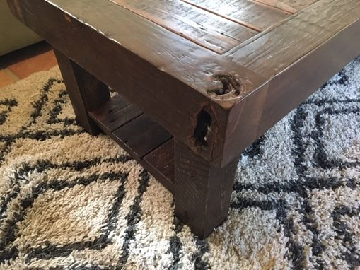 Custom Made Rustic Reclaimed Farmhouse Coffee Table