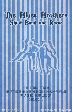 Custom Made Movie Band Gig Poster #1