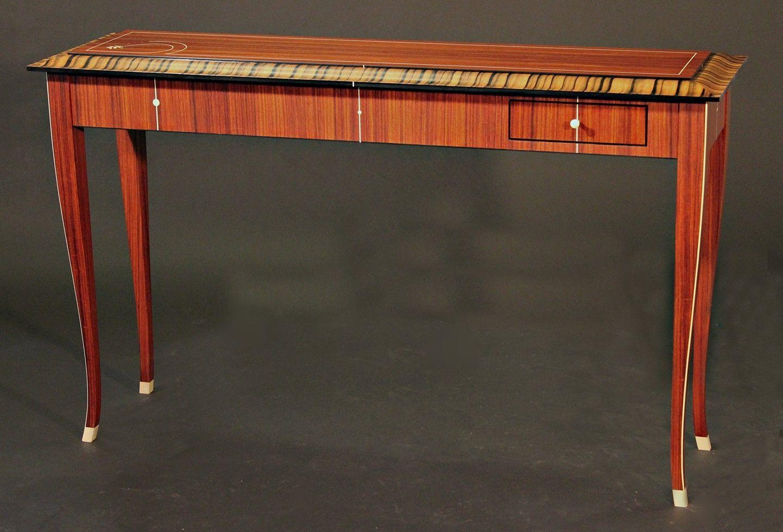 Custom Made Art Deco Console Table